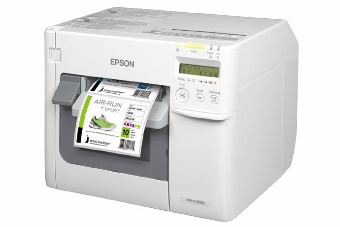 Impressora de Rótulos Epson ColorWorks C3500