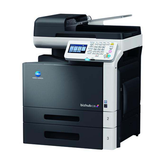 Multifuncional Laser Colorida Konica Minolta bizhub C35