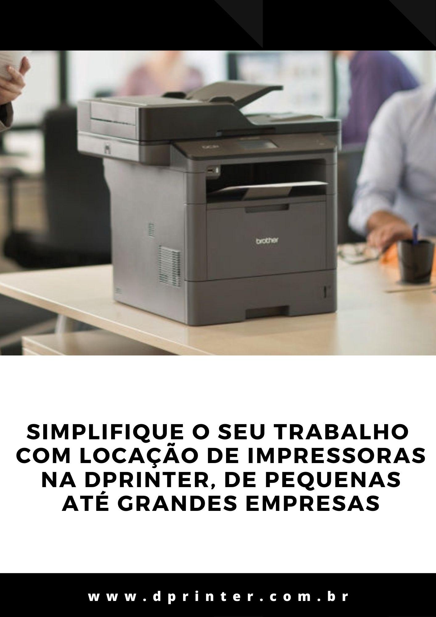 Locação de Impressoras Ambientes Corporativos